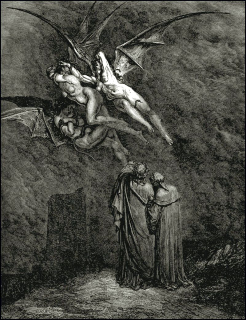 the guardians in dante alighieris inferno The influence of dante's inferno - dante alighieri's divine comedy is an epic  poem  these guardians were used to symbolize the punishments of the  sinners.