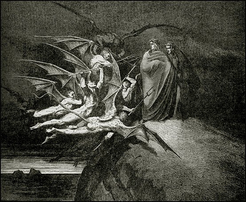 the use of symbolic retribution in dantes inferno Symbolic retribution here are the violent against god nature, and art) in dante's inferno have a look around and happy learning.