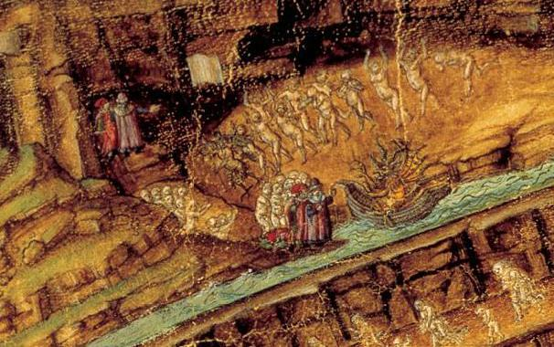 Botticelli's Inferno Painting | Dante's Inferno -The Webpage of Author  David Lafferty